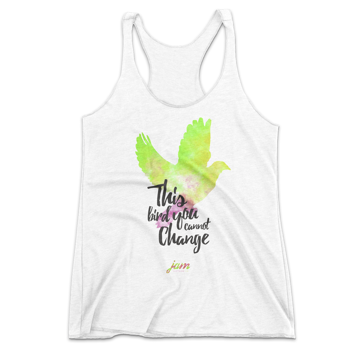 Freee As A Bird Racerback Tank Top