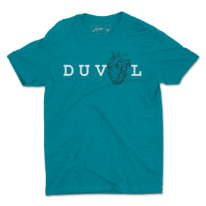 My Heart Is In Duval - Teal Unisex