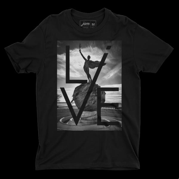 Live Life - Unisex T-shirt - Black