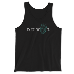 My Heart Is In DUVAL - Unisex Tank - Black
